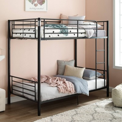 Twin over Twin Premium Metal Bunk Bed - Saracina Home