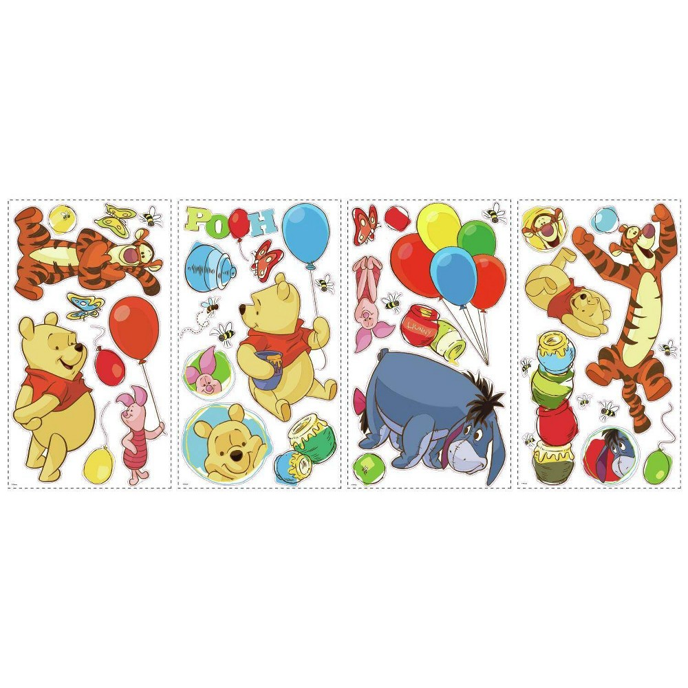 Winnie The Pooh Pooh And Friends Peel And Stick Wall Decal