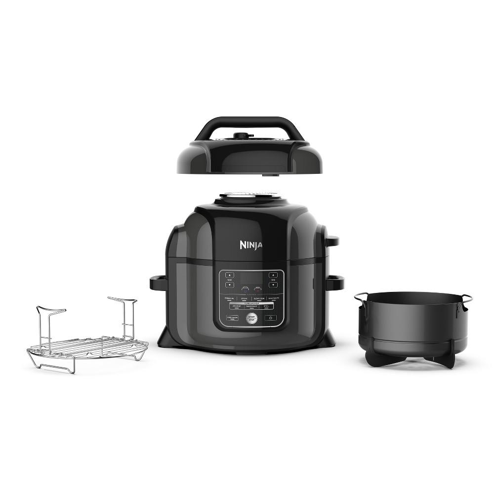 Ninja Foodi TenderCrisp Pressure Cooker OP302, Black