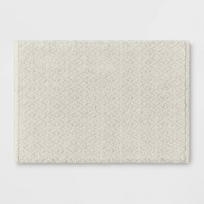 "17""x24"" Woven Chenille Bath Rug - Threshold™"
