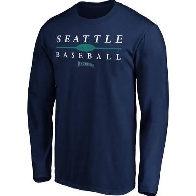 MLB Seattle Mariners Men's Long Sleeve Core T-Shirt