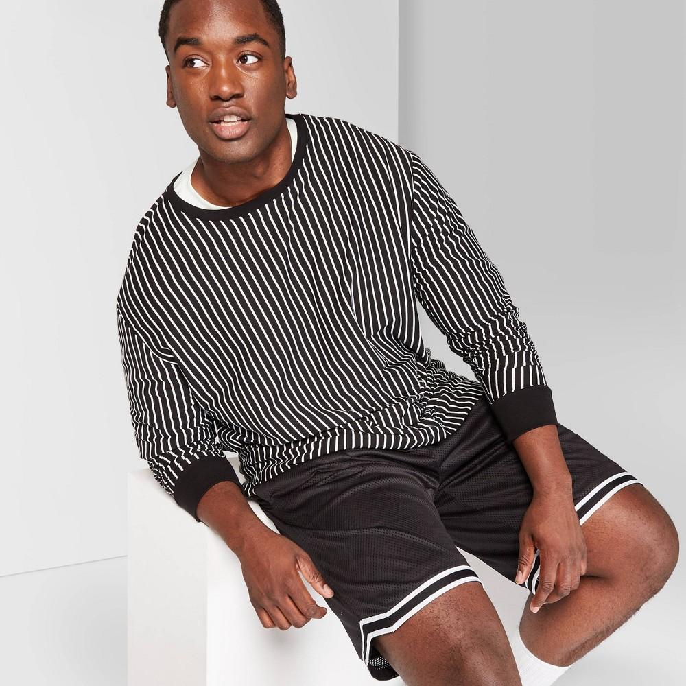 Men's Big & Tall 8.5 Mid-Rise Mesh Basketball Jogger Shorts - Original Use Black 4XB