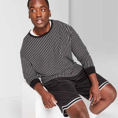"Men's Big & Tall 8.5"" Mid-Rise Mesh Basketball Jogger Shorts - Original Use™ Black 2XBT - image 1 of 3"