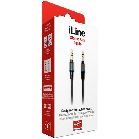 IK Multimedia iLine Stereo Aux Cable - image 1 of 2