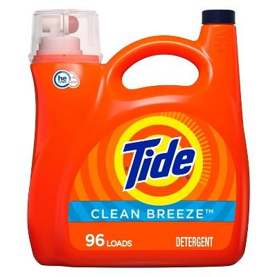 Tide Clean Breeze High Efficiency Liquid Laundry Detergent