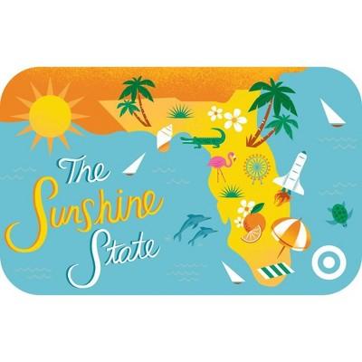 Florida Sunshine State Target GiftCard $20