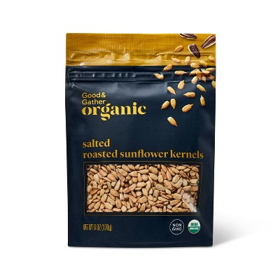 Organic Salted Roasted Sunflower Kernels - 6oz - Good & Gather™