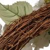 "Artificial Hydrangea Wreath White 32"" - National Tree Company - image 3 of 4"