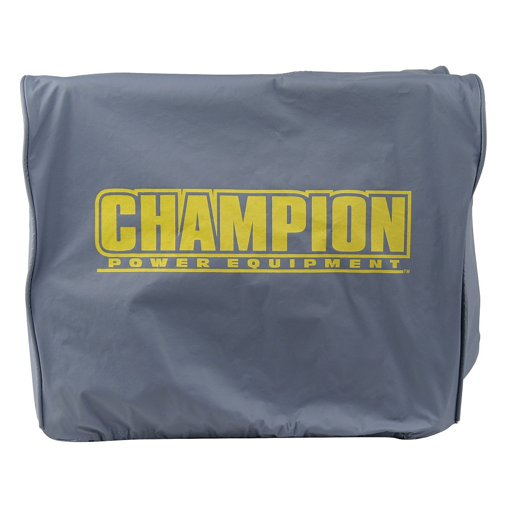 Image of Small Inverter Generator Vinyl Cover - Gray - Champion Power