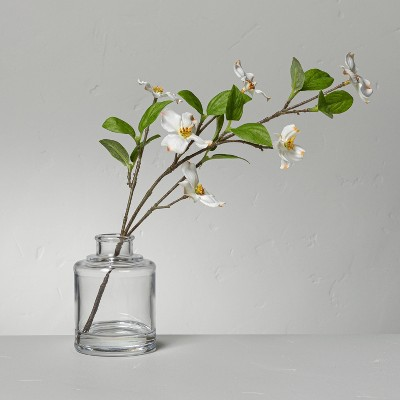 Large Faux White Dogwood Flower Arrangement - Hearth & Hand™ with Magnolia