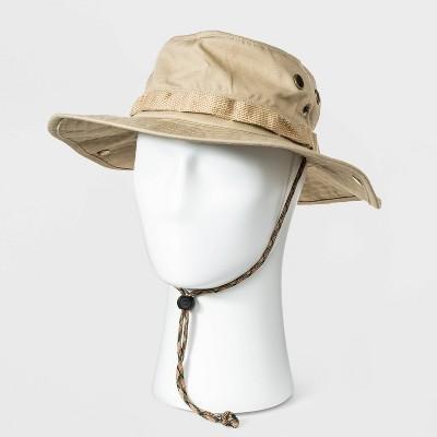 Men's Ripstop Bonnie Hat - Goodfellow & Co™ Khaki L/XL