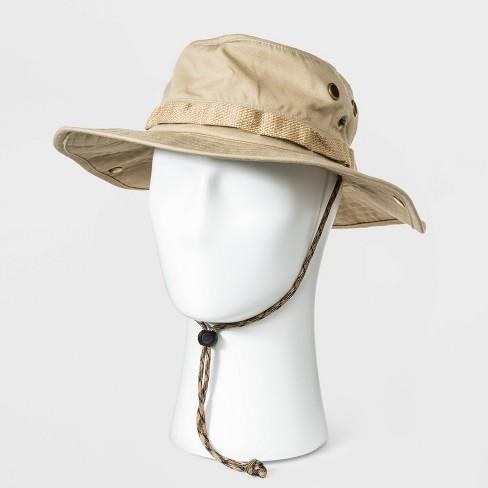 Men's Ripstop Bonnie Hat - Goodfellow & Co™ Khaki - image 1 of 3