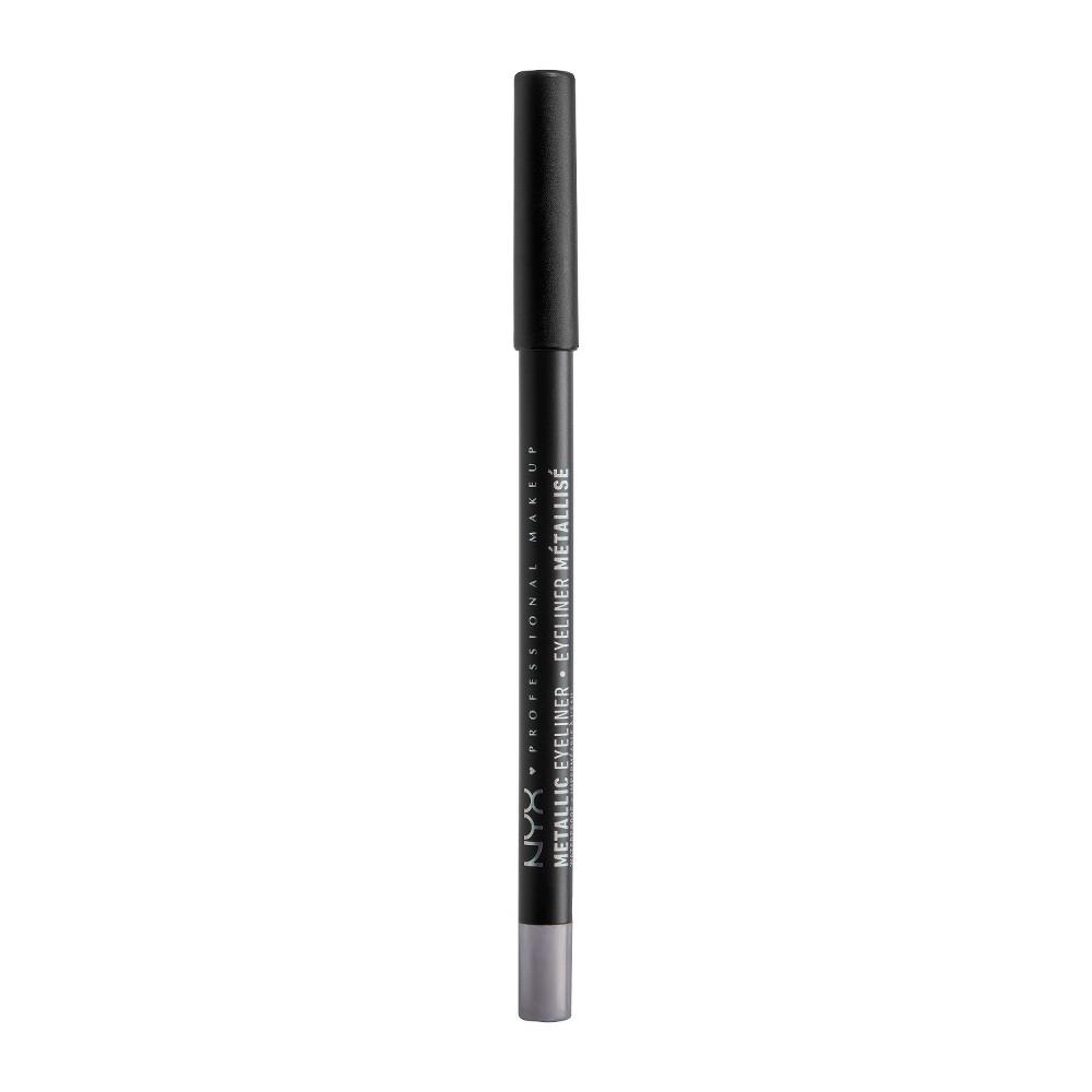 NYX Professional Makeup Metallic Eyeliner Silver - 0.05oz