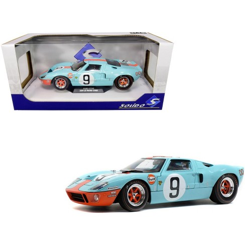 """Ford GT40 MKI #9 """"Gulf Oil"""" 24H of Le Mans (1968) 1/18 Diecast Model Car by Solido - image 1 of 4"""