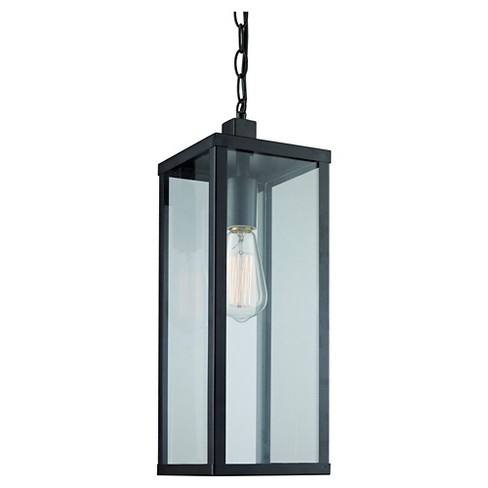 Bel Air Lighting Outdoor Hanging Pendant Black