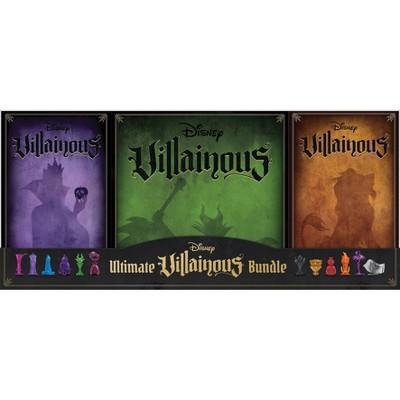 Disney Villainous Game Bundle Pack