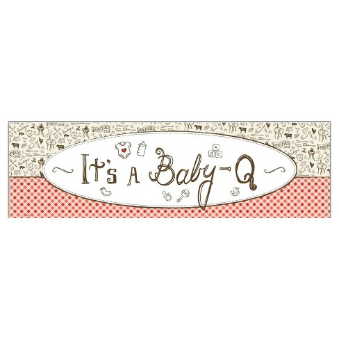 baby q party banner standard target