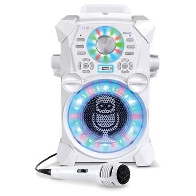 Singing Machine Hi-Definition Digital Karaoke System - White
