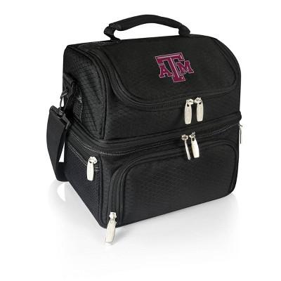 NCAA Texas A&M Aggies Pranzo Dual Compartment Lunch Bag - Black