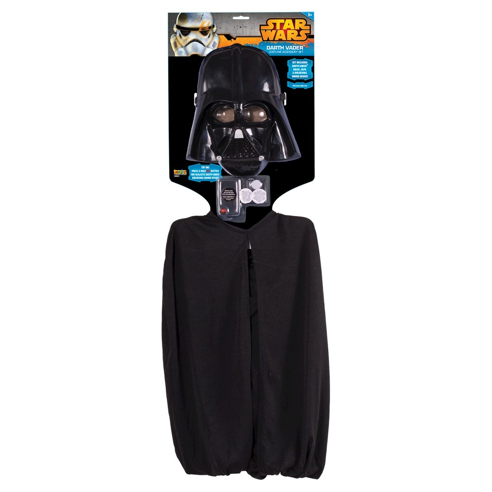 Darth Vader 'Star Wars' Accessory Kit Black - One Size Fits Most, Boy's