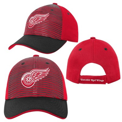 NHL Detroit Red Wings Boys' Structured Adjustable Hat