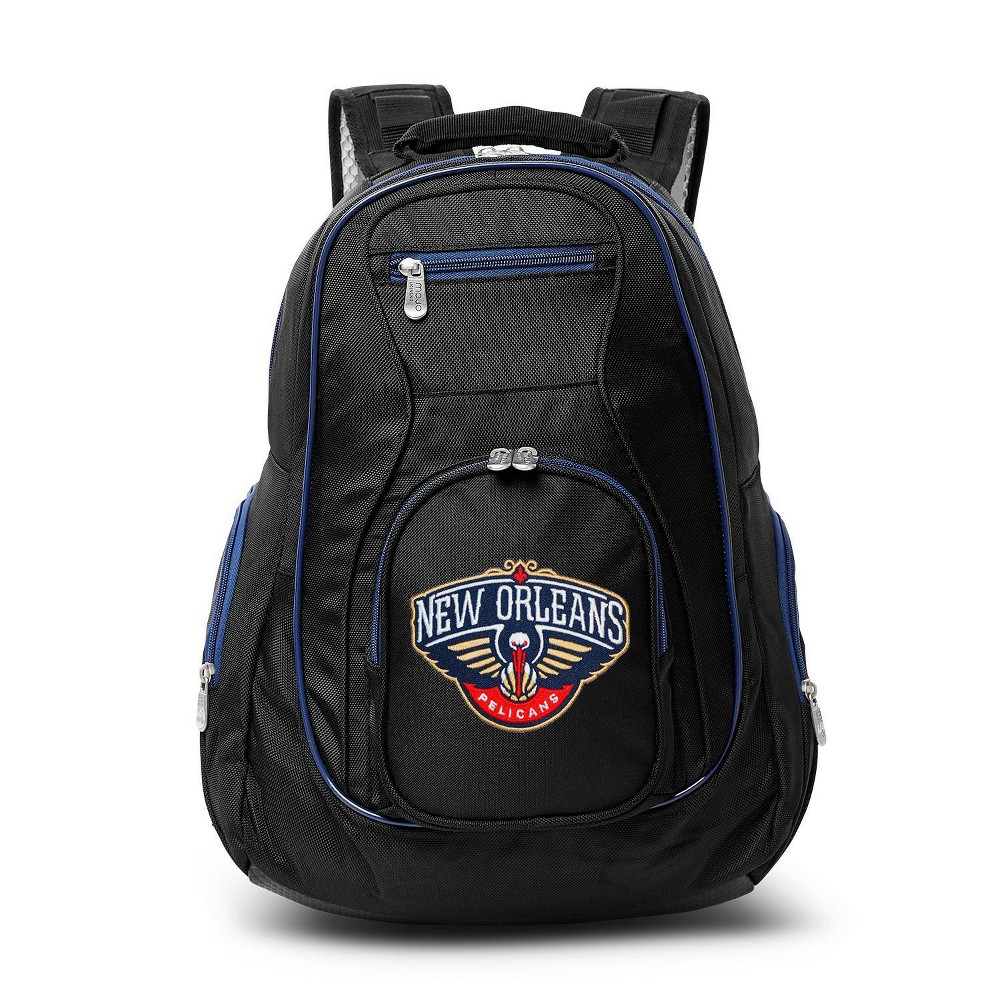 Nba New Orleans Pelicans Colored Trim Laptop Backpack