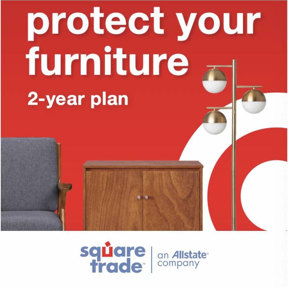 2 Year Target + SquareTrade Furniture Protection Plan ($50 - $99.99)