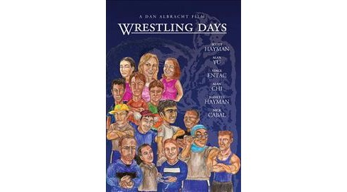 Wrestling Days (DVD) - image 1 of 1