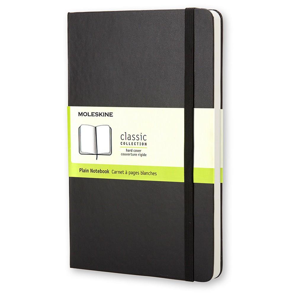 """Image of """"Blank Composition Journal 3.5""""""""x 5.5"""""""" Black - Moleskine, Size: Pocket"""""""