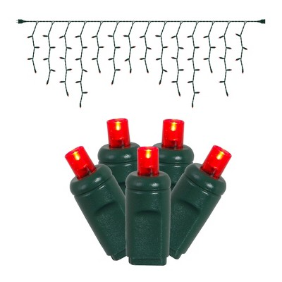 Vickerman Wide Angle Icicle Christmas light set