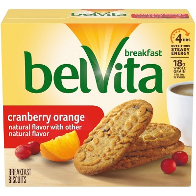 belVita Cranberry Orange Breakfast Biscuits - 5 Packs