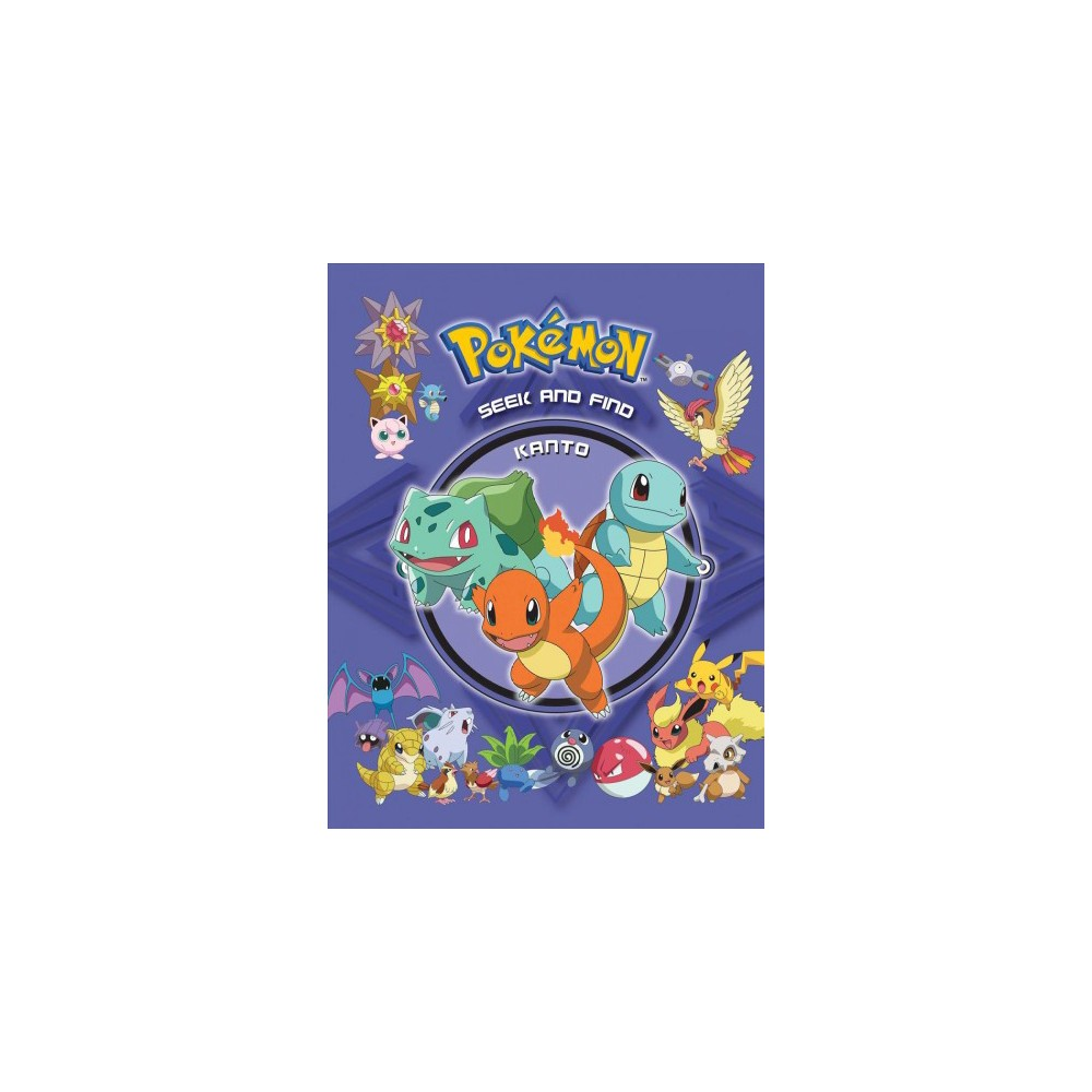 Kanto - (Pokemon Seek and Find) (Hardcover)