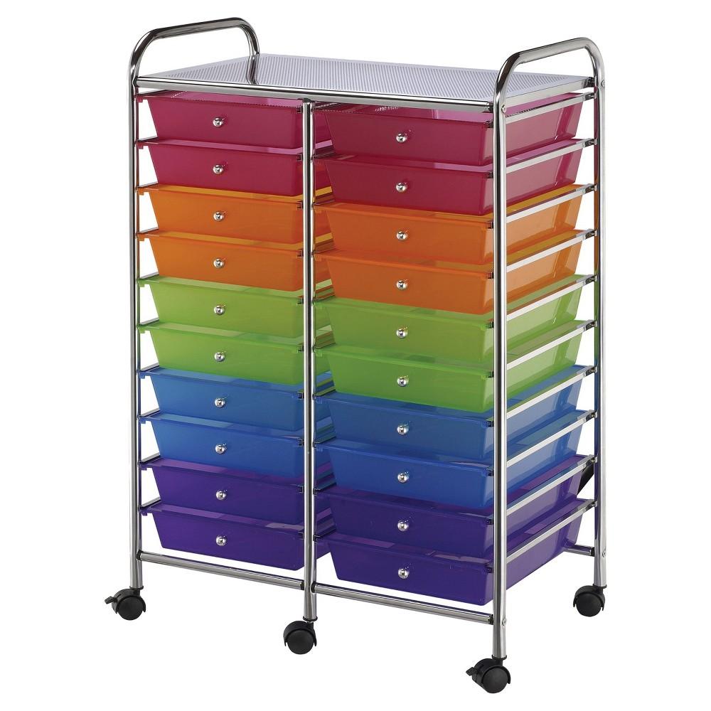 Image of Blue Hills Studio Scrapbooking Tool Organizer - Steel/Multi-Colored