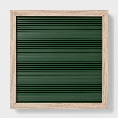 12 x 12  Letterboard Green - Room Essentials™
