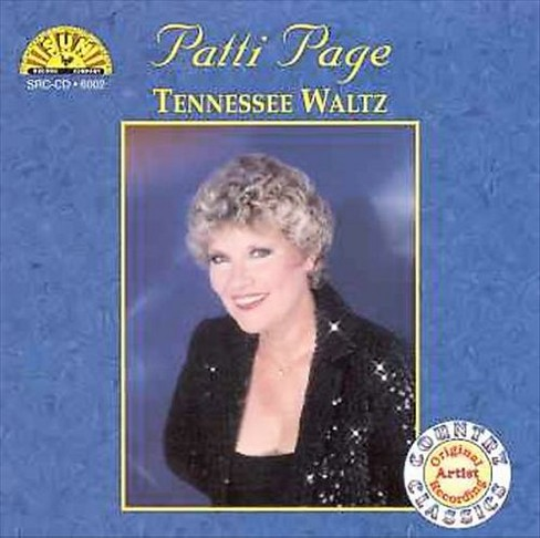 Patti page - Tennessee waltz (CD) - image 1 of 1