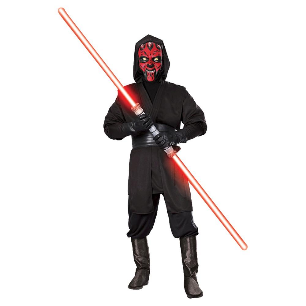 Men's 'Star Wars' Darth Maul Deluxe Costume, Black