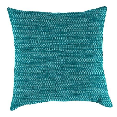 Outdoor Throw Pillow Set Jordan Manufacturing Lagoon Turquoise Target