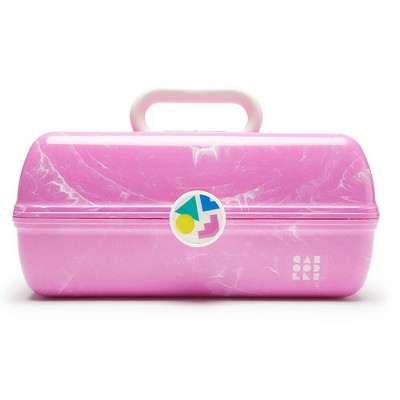 Caboodles On the Go Girl Cosmetic Bag - Pink Marble