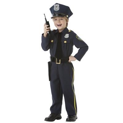 Toddler Police Officer Halloween Costume