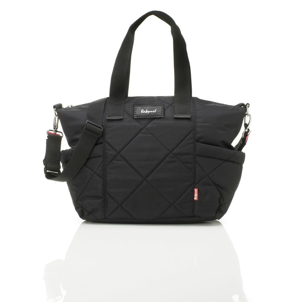 Babymel Evie Diaper Bag - Quilted Black