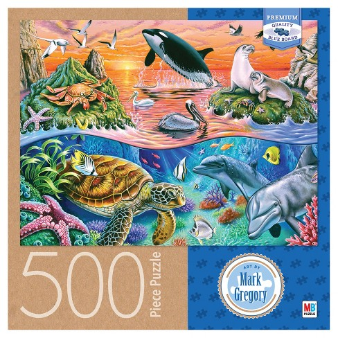 Mark Gregory Ocean Gathering 500pc Puzzle - image 1 of 2