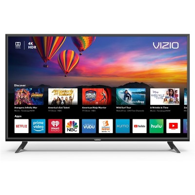 VIZIO E-Series 43  Class (42.5  Diag.)4K HDR Smart TV - Black (E43-F1)