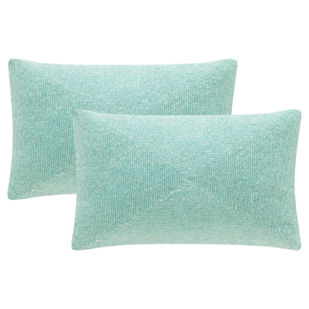 Blue Set Throw Pillow - Safavieh