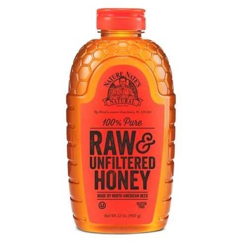 Nature Nate's® Raw Unfiltered Honey - 32oz - image 1 of 1