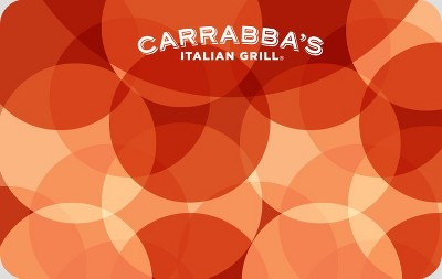 Carrabbas $25 (Email Delivery)