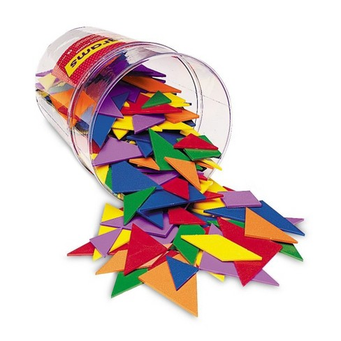 Learning Resources Classpack Tangrams, Set of 30, 6 Colors, Ages 5+ - image 1 of 1