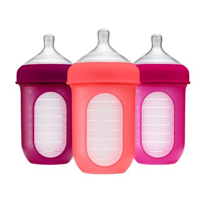 Boon NURSH 8oz Bottle - 3pk Pink