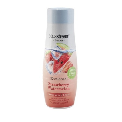 SodaStream Zero Strawberry Watermelon Sodamix - 440ml
