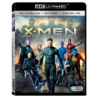 X-Men: Days of Future Past [Includes 4K Ultra HD] (Blu-ray] [Digital HD Copy]