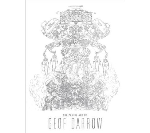 Lead Poisoning : The Pencil Art of Geof Darrow -  (Hardcover) - image 1 of 1